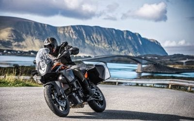 The all new KTM 1090 and 1090 R Adventure bikes