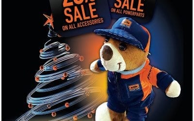 Sale – Accessories Less 20% & PowerParts Less 10%